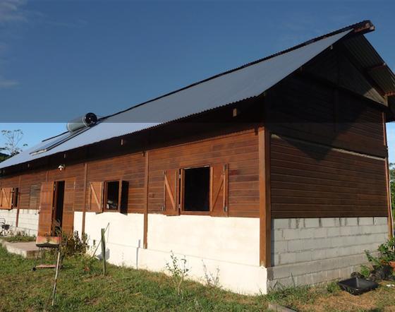 Une maison à la campagne