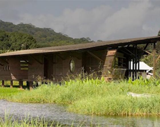 Un bâtiment bien intégré au site